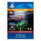 2200 Madden NFL 18 Ultimate Team Points - PS4 CZ Digital (SCEE-XX-S0032287)