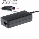 Akyga notebook power adapter AK-ND-05 19.5V/3.34A 65W 7.4x5.0 mm   pin DELL