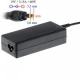 Akyga notebook power adapter AK-ND-13 19V/3.16A 60W 5.5x3.0 mm   pin SAMSUNG