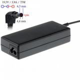 Akyga notebook power adapter AK-ND-19 19.5V/3.9A 75W 6.5x4.4 mm   pin SONY