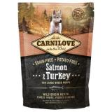 Carnilove Large Puppy Salmon and Turkey - 2 x 12 kg
