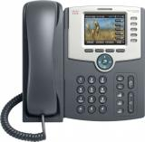 Cisco SPA525G2 IP Phone, 5 Voice Lines, 2x 10/100 Ports, High-Resolution Graphical Display, PoE Support, WiFi, REFRESH, SPA525G2-EU-RF