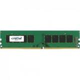 CRUCIAL 4GB UDIMM DDR4 2400MHz PC4-19200 CL17 1.2V Single Ranked x8