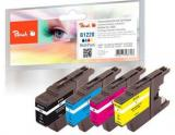 Ink PEACH PI500-217 Brother LC-1220 MultiPack | bk, c, m, y