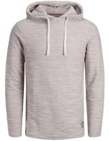 Jack&Jones Pánská mikina Murray Sweat Hood Cloud Dancer Reg XL