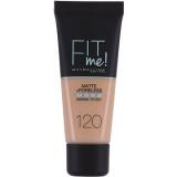 MAYBELLINE NEW YORK Fit Me Matte & Poreless Make Up 120 Classic Ivory 30 ml (3600531324520)