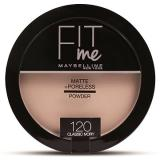 MAYBELLINE NEW YORK Fit Me Matte Poreless 120 Classic Ivory 14 g (8992304057021)