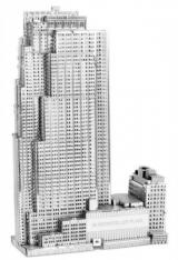 METAL EARTH 3D puzzle 30 Rockefeller Plaza (GE Building)
