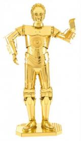 METAL EARTH 3D puzzle Star Wars: C-3PO (zlatý)