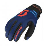 Moto rukavice SCOTT 350 Insulated MXVII Blue-Orange - M