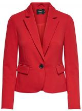ONLY Dámský blejzr Kira L/S Fitted Blazer Tlr Mars Red 38