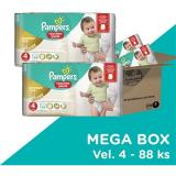 PAMPERS Pants Premium Care Maxi vel. 4 Megabox (88 ks)