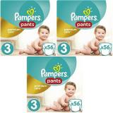 PAMPERS Pants Premium Care Midi vel. 3 (168 ks)
