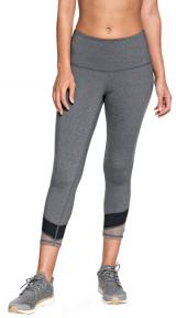 Roxy Dámské legíny Mad About You Capri Charcoal Heather ERJWP03019-KTAH XL