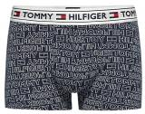 Tommy Hilfiger Pánské boxerky Authentic Cotton Trunk Repeat Logo UM0UM00504-416 Navy Blazer M