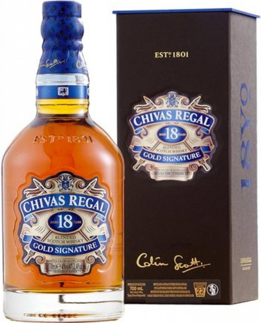 Chivas Regal 18YO 0,7l