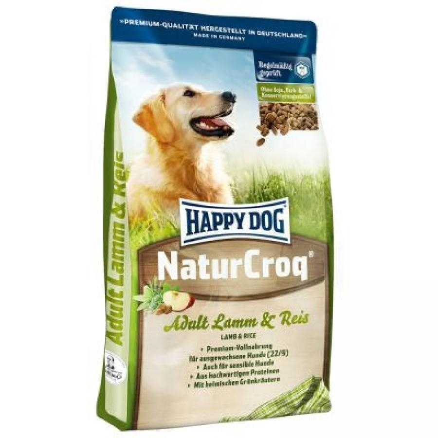 Happy Dog NaturCroq Lamm & Reis - 1 kg