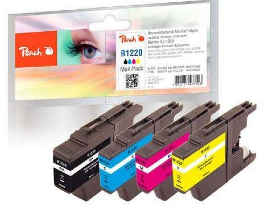 Produkt Ink PEACH PI500-171 Brother LC-229XL/ LC-225XL MultiPack | bk, c, m, y