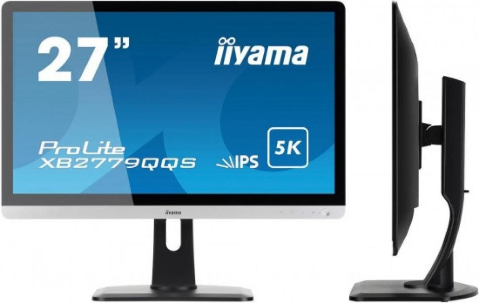 Produkt Monitor Iiyama XB2779QQS-S1 27inch 5K, panel IPS, HDMIx3/DPx2, speakers