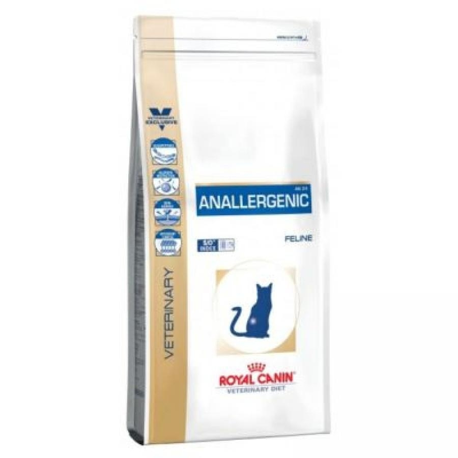 Produkt Royal Canin Veterinary Diet Feline Anallergenic - 2 x 4 kg