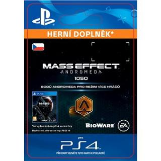 1050 Mass Effect: Andromeda Points - PS4 CZ Digital