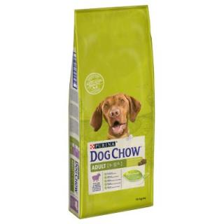 12   2 kg zdarma! Purina Dog Chow, 14 kg Adult Active Chicken