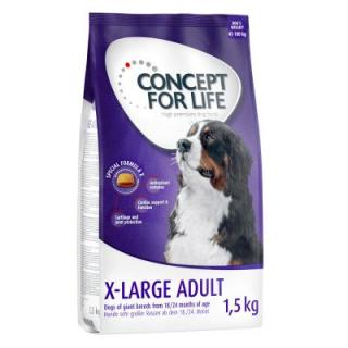 2   1 zdarma! 3 x 1,5 kg Concept for Life granule - Golden Retriever Adult