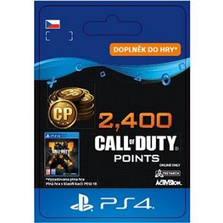 2,400 Call of Duty: Black Ops 4 Points - PS4 CZ Digital
