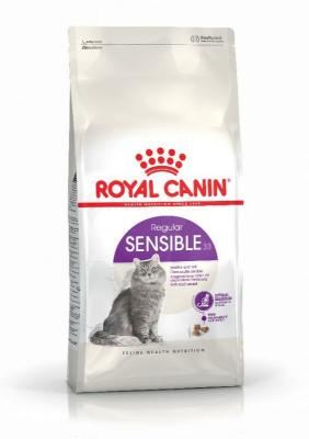 4 kg Royal Canin   24 x 85 g Royal Canin v omáčce - Sensible 33   Digest Sensitive v omáčce