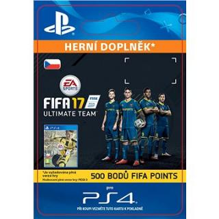 500 FIFA 17 Points Pack - PS4 CZ Digital (SCEE-XX-S0026770)