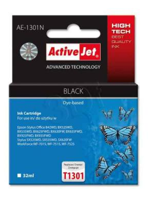 ActiveJet ink cartr. Eps T1301 Black 100% NEW - 32 ml     AE-1301N, EXPACJAEP0207