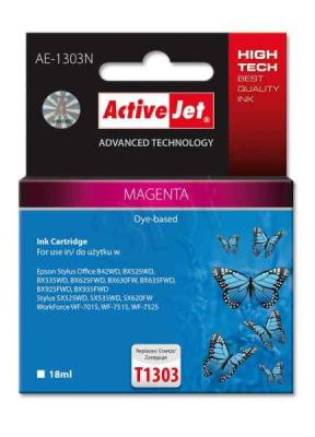ActiveJet ink cartr. Eps T1303 Magenta 100% NEW - 18 ml     AE-1303N, EXPACJAEP0209