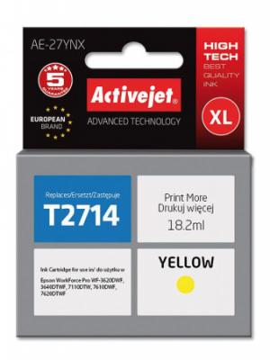 ActiveJet ink Epson T2714 new AE-27YNX  18 ml, EXPACJAEP0269
