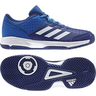 Adidas Court Stabil Trainers Juniors blue/white 32