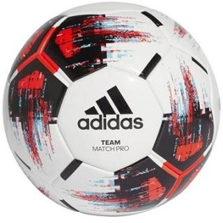 Adidas TEAM Match Ball, WHITE/BLACK/SOLRED/BR (SPTalt07nad)