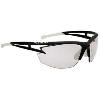Alpina Eye-5 HR VL  black matt-white (4003692220400)