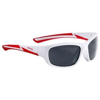 Alpina Flexxy Youth white matt-red (4003692229090)