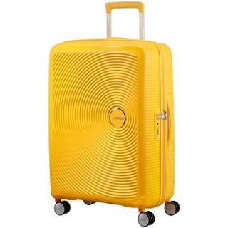 American Tourister Soundbox Spinner 77 Exp Golden Yellow
