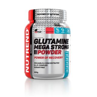 Aminokyseliny Nutrend Glutamine Mega Strong Powder 500g meloun