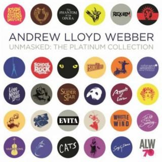 Andrew Lloyd Webber : Unmasked-the Platinum Collection  CD