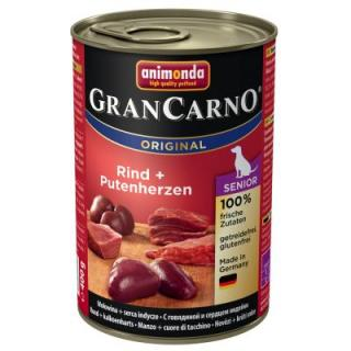 Animonda GranCarno Original Adult 24 x 400 g - mix 2, 6 druhů