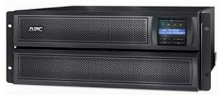 APC Smart-UPS X 3000VA (2700W) Rack4U/Tower LCD with network card, hl. 48,3 cm, SMX3000HVNC