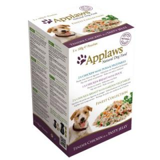Applaws Dog Finest Collection Multi-Pack - 10 x 100 g