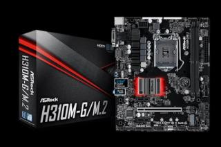 ASROCK MBH310M-G/M.2 (intel 1151 coffe lake, 2x DDR4 2666, GLAN, SATA3 M.2, USB3.0, VGA  DVI HDMI, mATX) pro intel coffe lake
