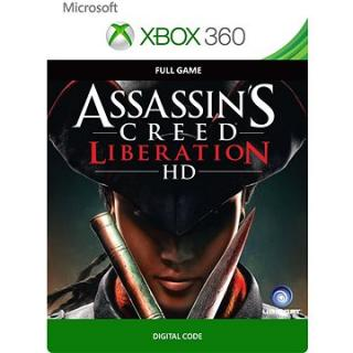 Assassins Creed Liberation - Xbox 360, Xbox One Digital (G3P-00119)