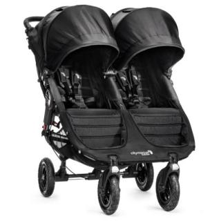 Baby Jogger City Mini Double GT 2017 black/black Černá/černá