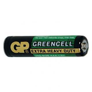 Baterie GP Greencell R03