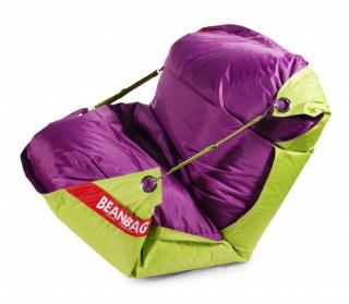 BeanBag duo limet purple