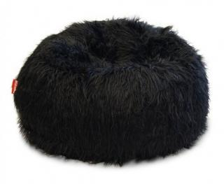 BeanBag Shaggy Black
