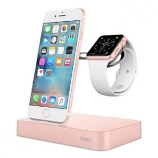BELKIN VALET Charge dock for iPhone & Apple watch, rosegold